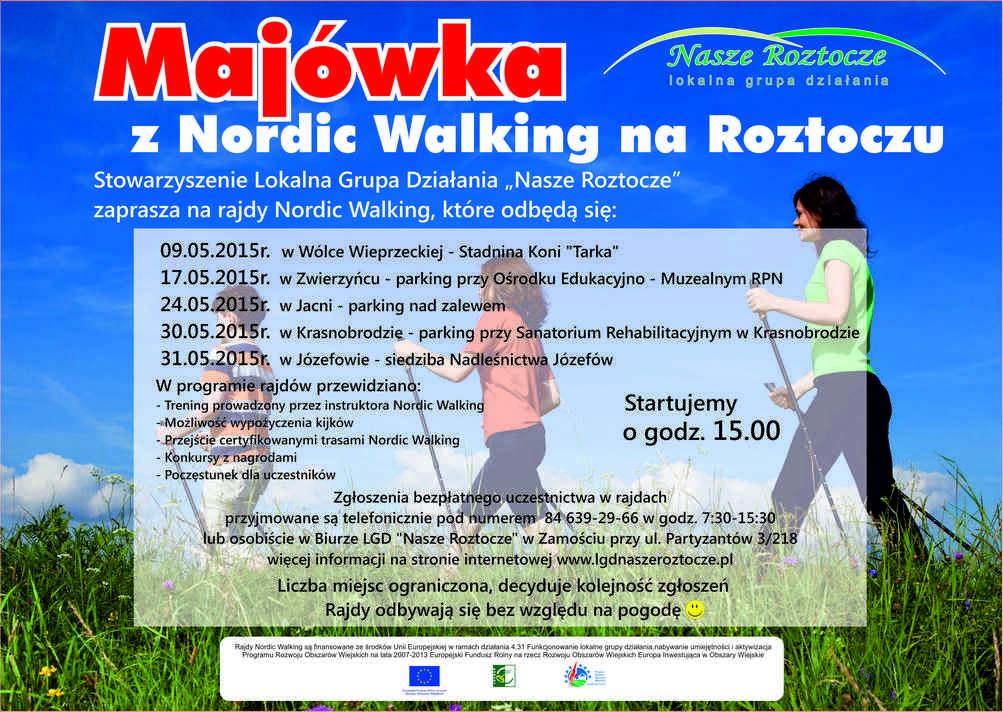 Nordic Walking z LGD Nasze Roztocze