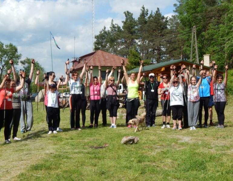 """Zakończenie """"Majówki z Nordic Walking na Roztoczu"""""""