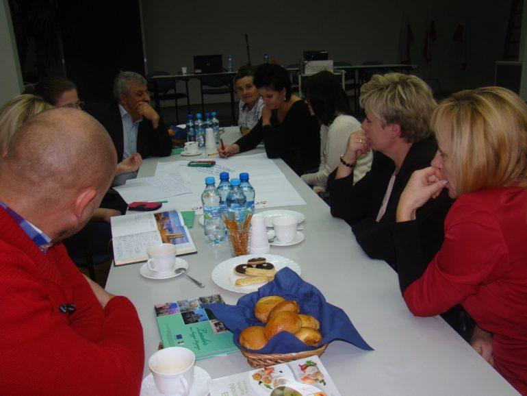 Spotkanie konsultacyjne w sprawie celów i przedsięwzięć opracowywanej Lokalnej Strategii Rozwoju