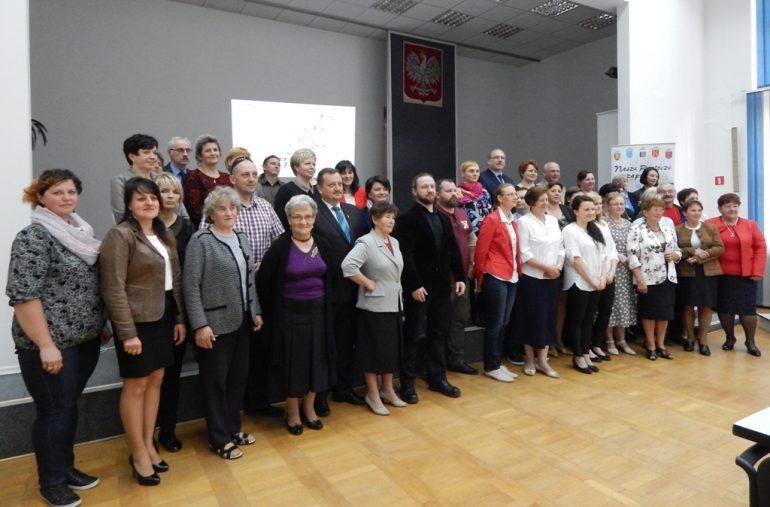 Wręczenie nagród w konkursie Liderzy Lokalnych Społeczności