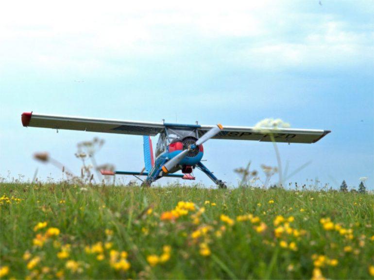 Aeroklub Ziemi Zamojskiej w Mokrem