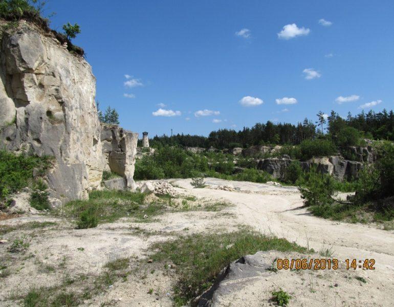 Kamieniołom Babia Dolina ibaszta widokowa wJózefowie