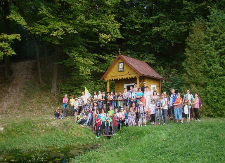 Marsz z kijkami w Lipsku Polesiu