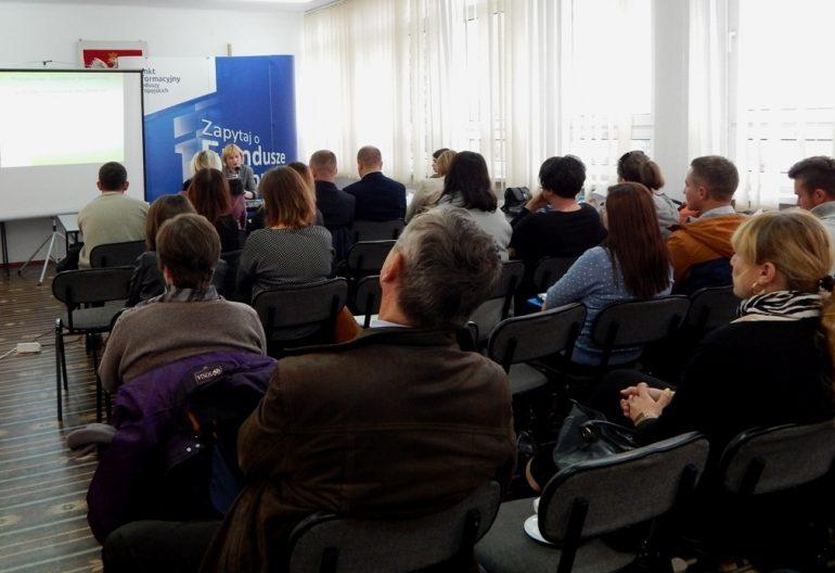 Spotkanie informacyjne dotyczące rozwoju przedsiębiorczości