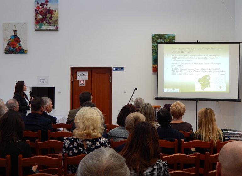 Konferencja w Centrum Integracji Społecznej w Jacni