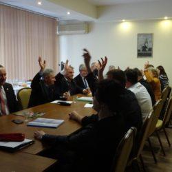 Posiedzenie Rady LGD dotyczące oceny i wyboru wniosków w ramach planowanego do realizacji projektu grantowego