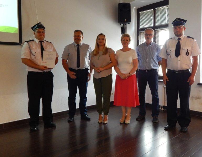 III miejsce w konkursie Liderzy Lokalnych Społeczności – Ochotnicza Straż Pożarna w Żurawnicy