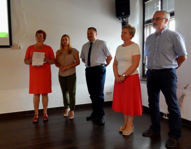 Wyróżnienie w konkursie Liderzy Lokalnych Społeczności – Koło Gospodyń Wiejskich w Łapiguzie