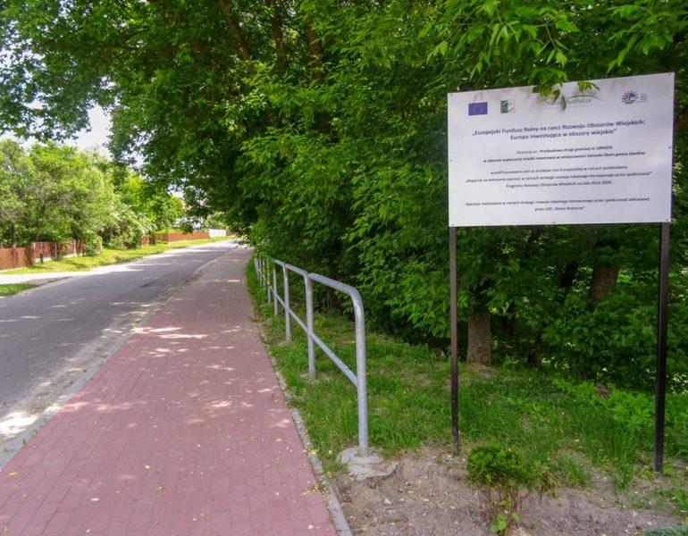 Nowa ścieżka rowerowa w Górecku Starym
